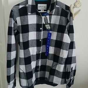 Orvis Tops - NWT Orvis fleece lined shirt jacket